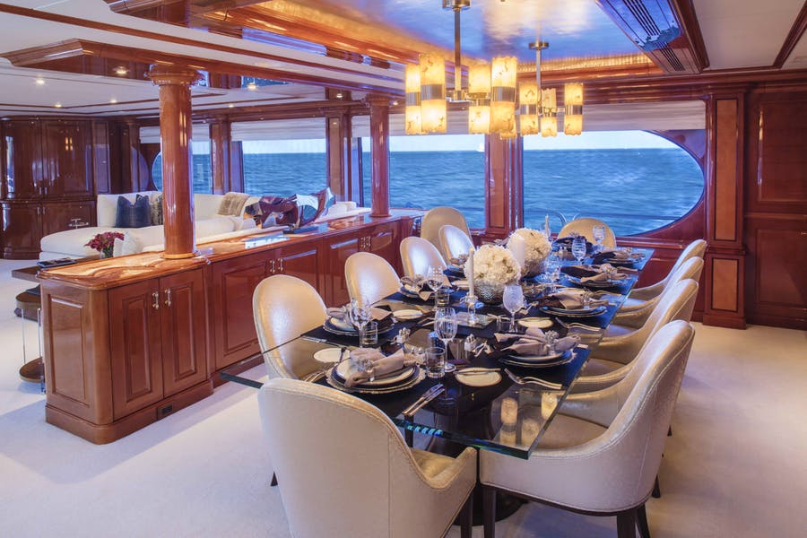 Features for MILESTONE Private Luxury Yacht For charter