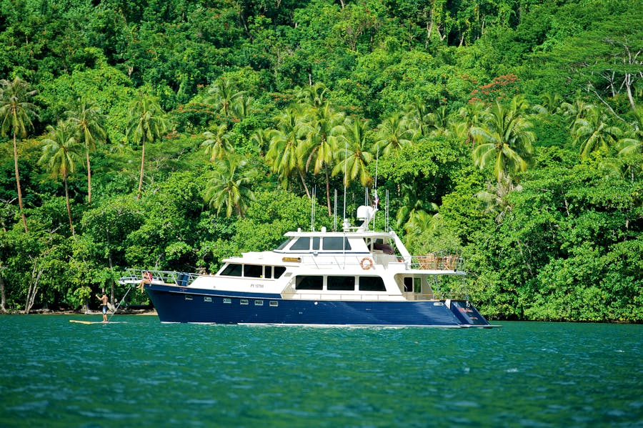 Tendar & Toys for MISS KULANI Private Luxury Yacht For charter
