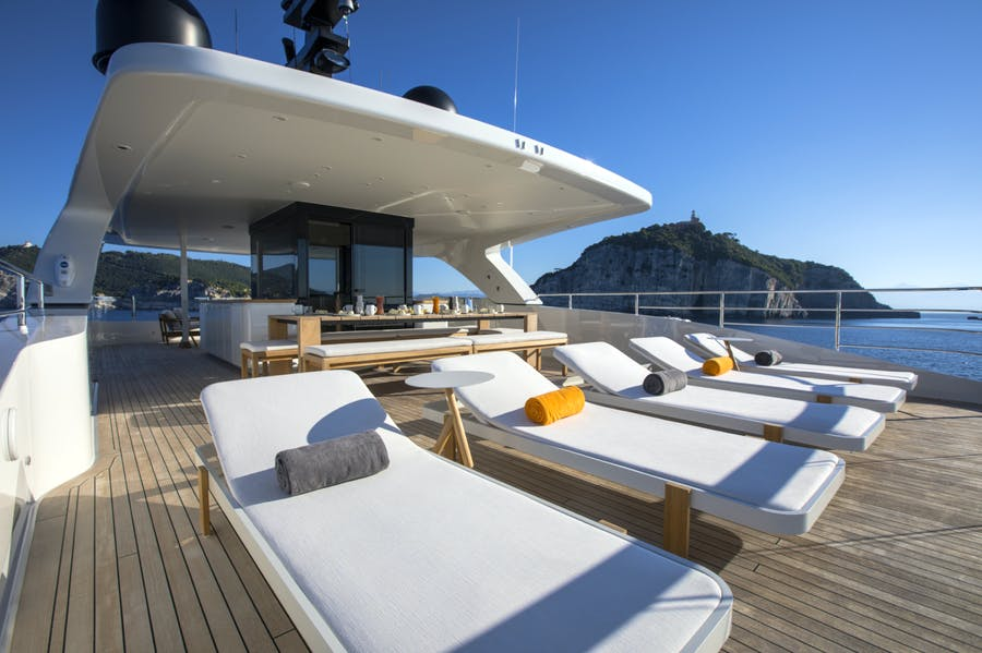 Features for MOKA Private Luxury Yacht For charter