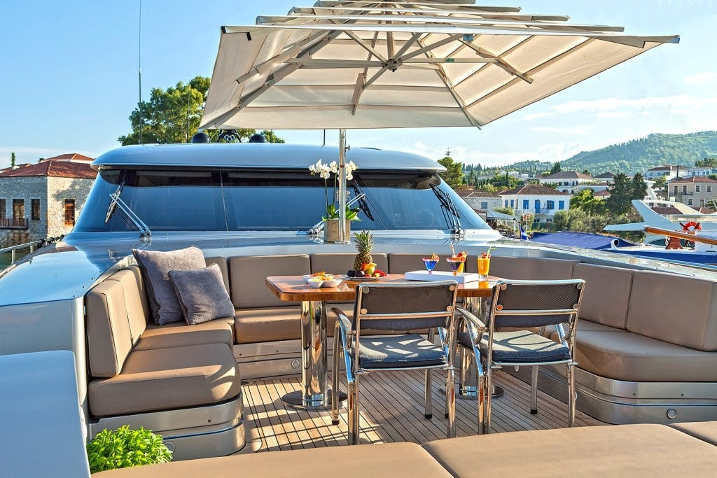 Seasonal Rates for MY TOY Private Luxury Yacht For Charter