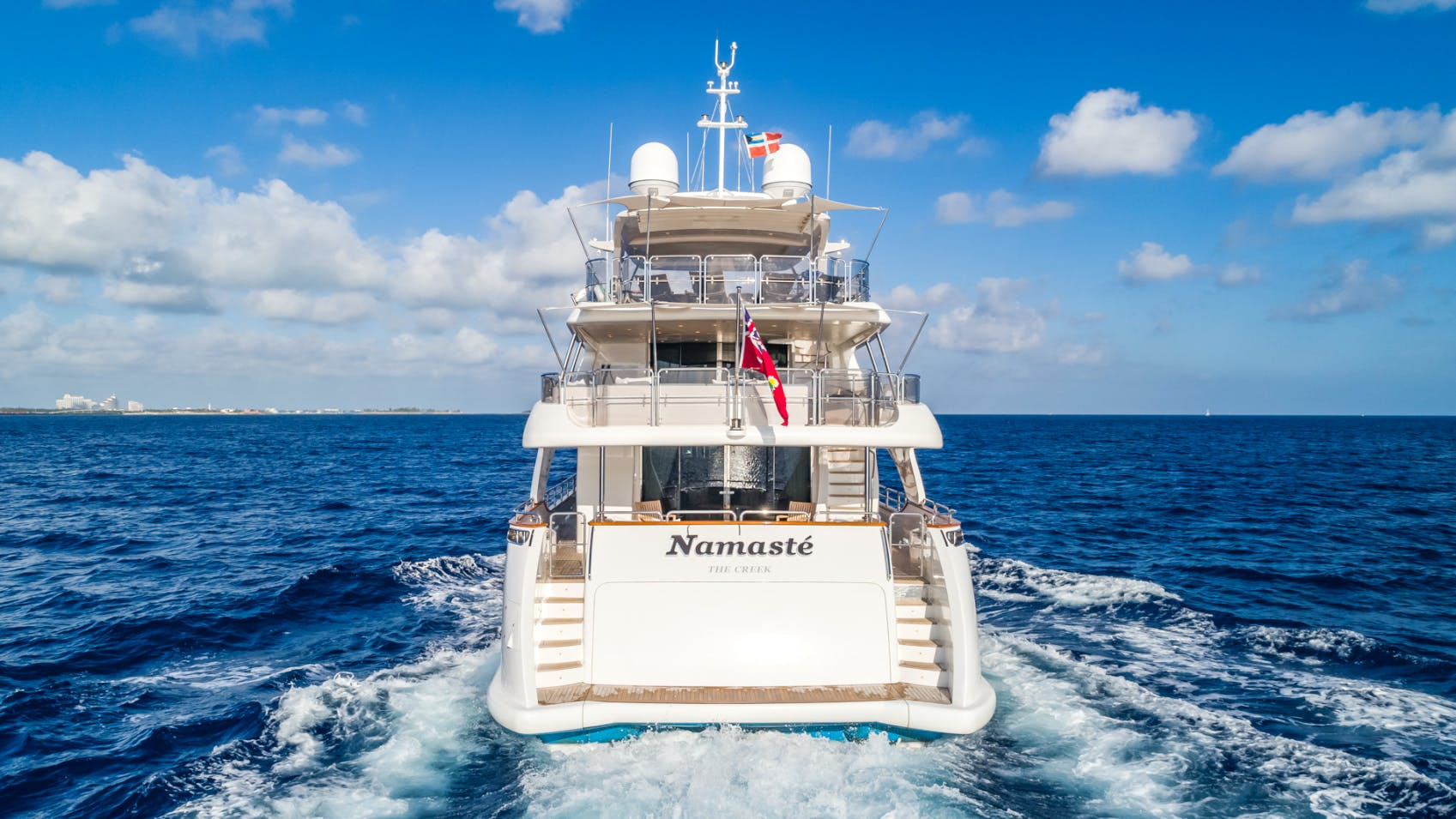 Seasonal Rates for NAMASTE Private Luxury Yacht For Charter