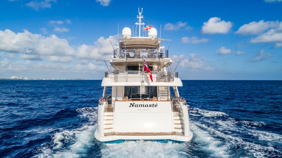 Tendar & Toys for NAMASTE Private Luxury Yacht For charter