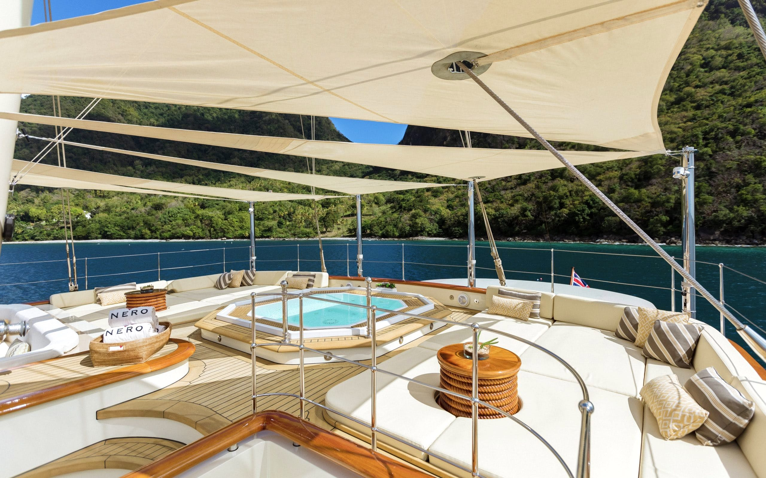 Seasonal Rates for NERO Private Luxury Yacht For Charter