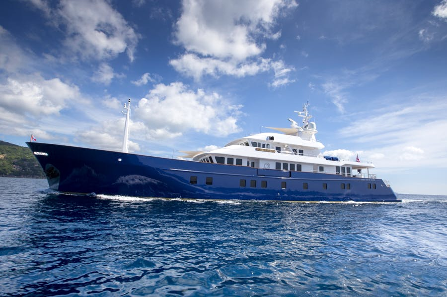 Features for Northern Sun Private Luxury Yacht For charter
