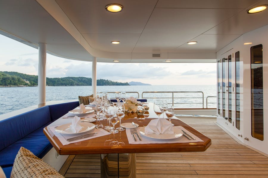 Tendar & Toys for Northern Sun Private Luxury Yacht For charter
