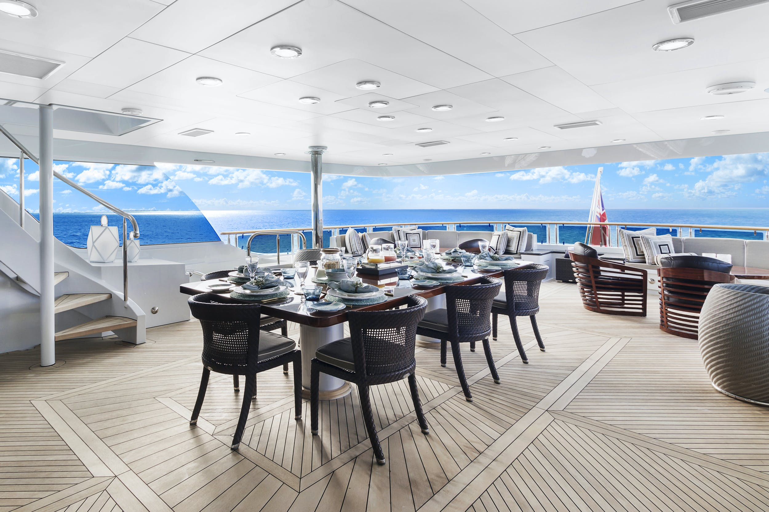 Seasonal Rates for OCEAN CLUB Private Luxury Yacht For Charter