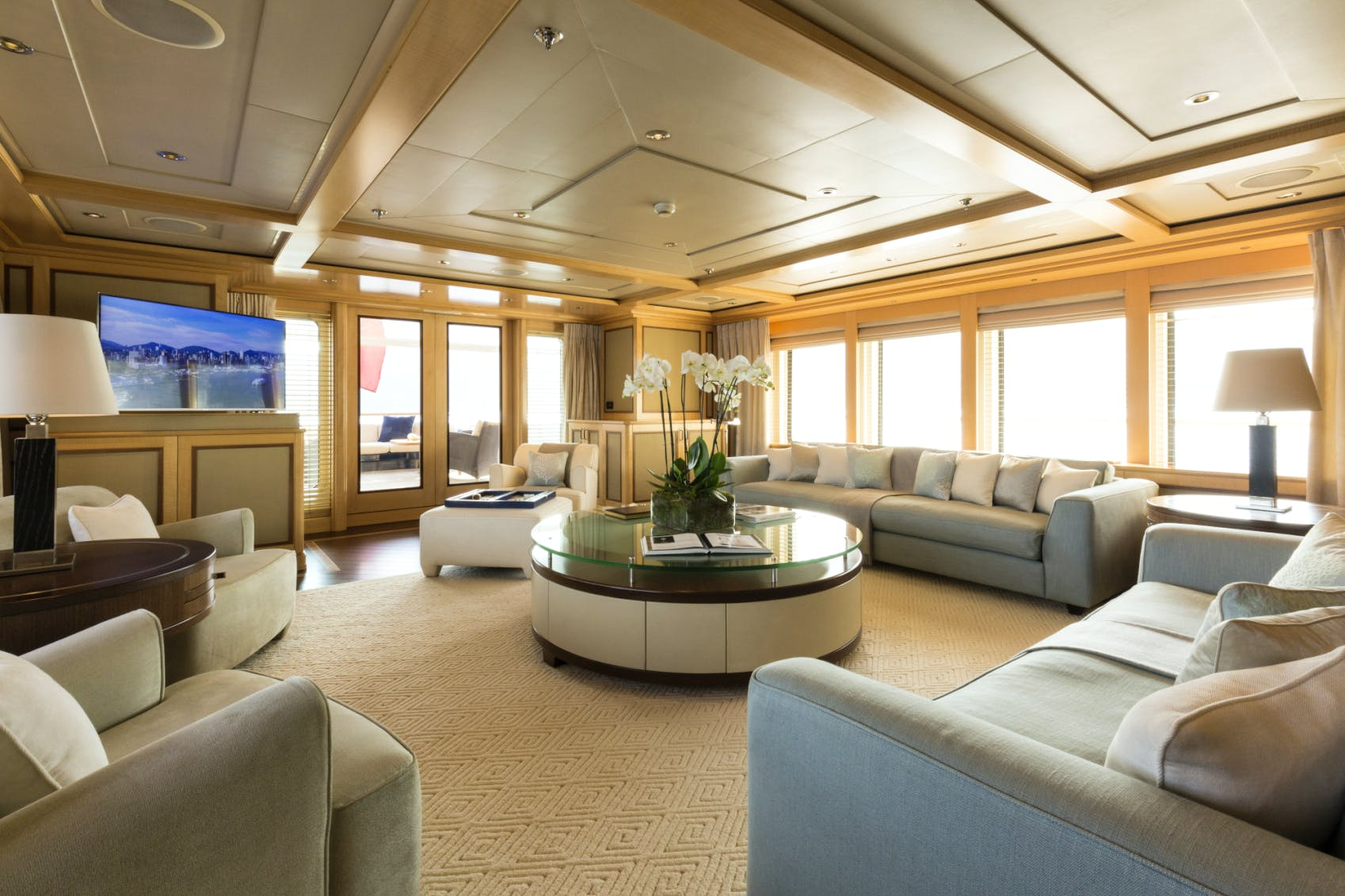 Seasonal Rates for ODESSA Private Luxury Yacht For Charter