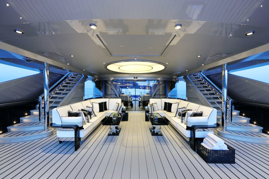 Features for OKTO Private Luxury Yacht For charter