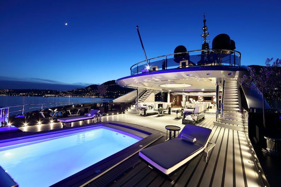 Tendar & Toys for OKTO Private Luxury Yacht For charter