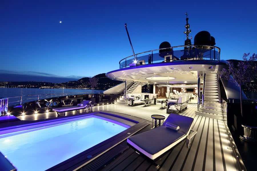 Tendar & Toys for OKTO Private Luxury Yacht For charter