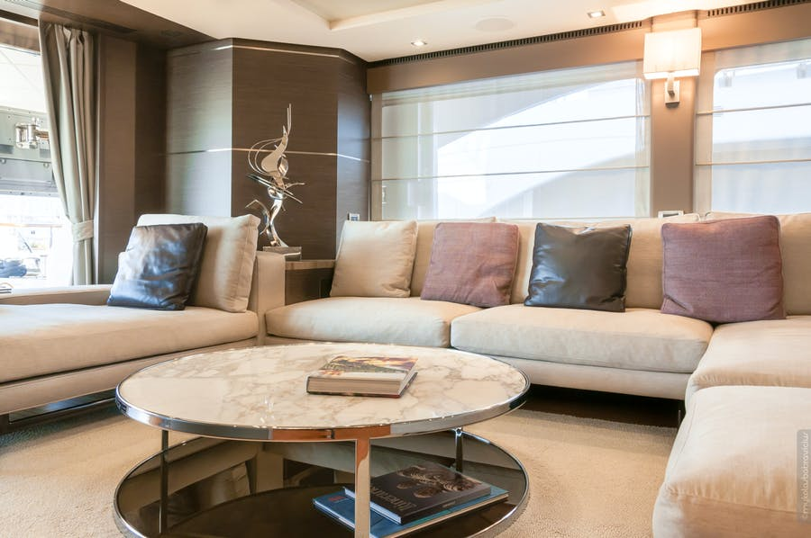 Features for ORSO 3 Private Luxury Yacht For charter