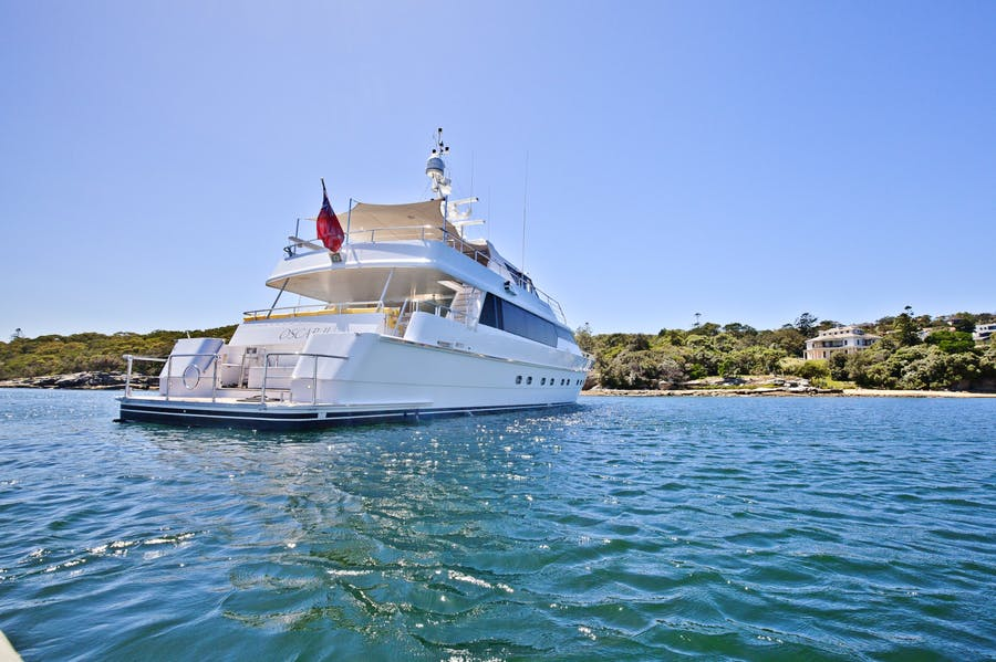 Features for OSCAR II Private Luxury Yacht For charter