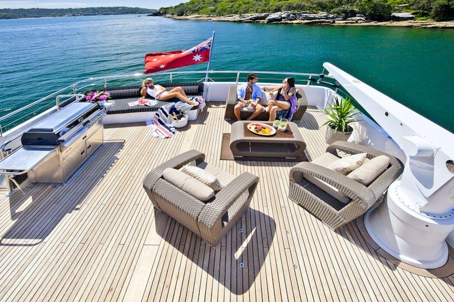 Tendar & Toys for OSCAR II Private Luxury Yacht For charter