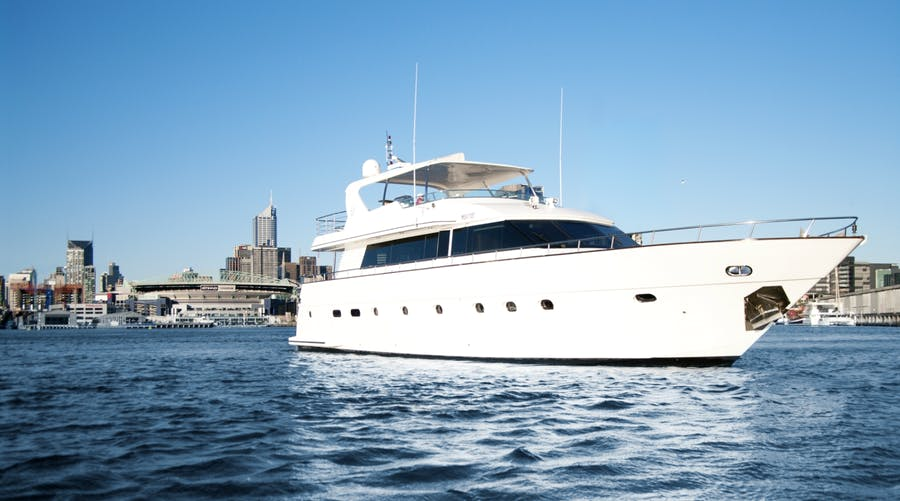 Features for PEARL Private Luxury Yacht For charter