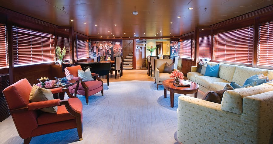 Features for PERLE BLEUE Private Luxury Yacht For charter