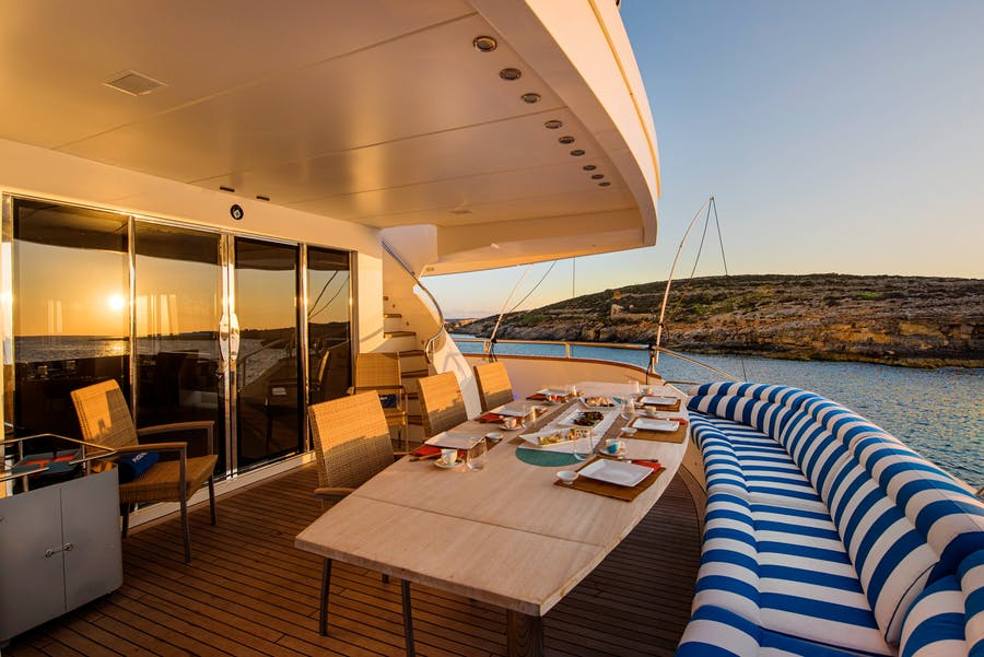Features for PHOENIX Private Luxury Yacht For charter