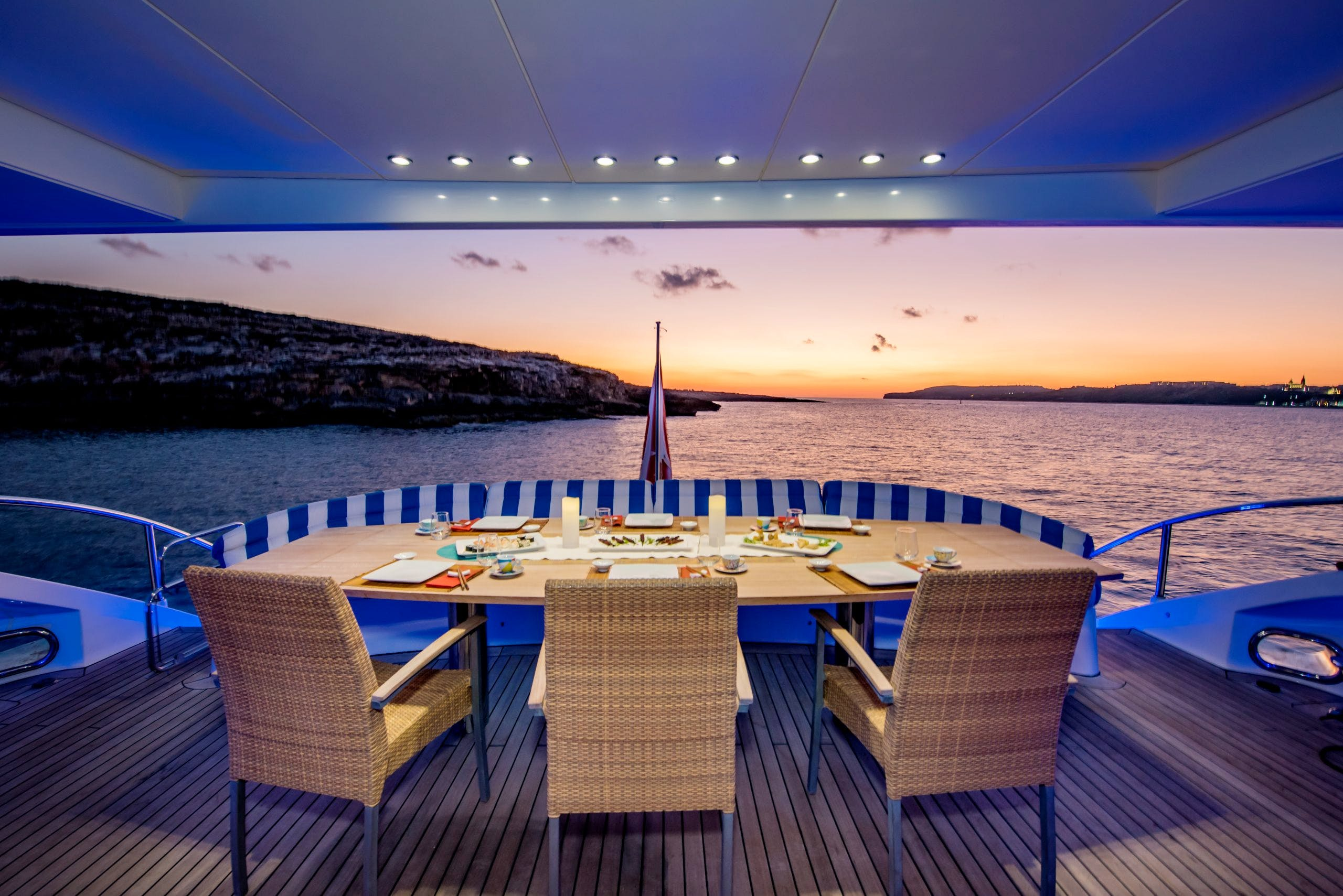 Seasonal Rates for PHOENIX Private Luxury Yacht For Charter