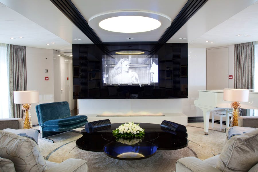 Features for QUITE ESSENTIAL Private Luxury Yacht For charter