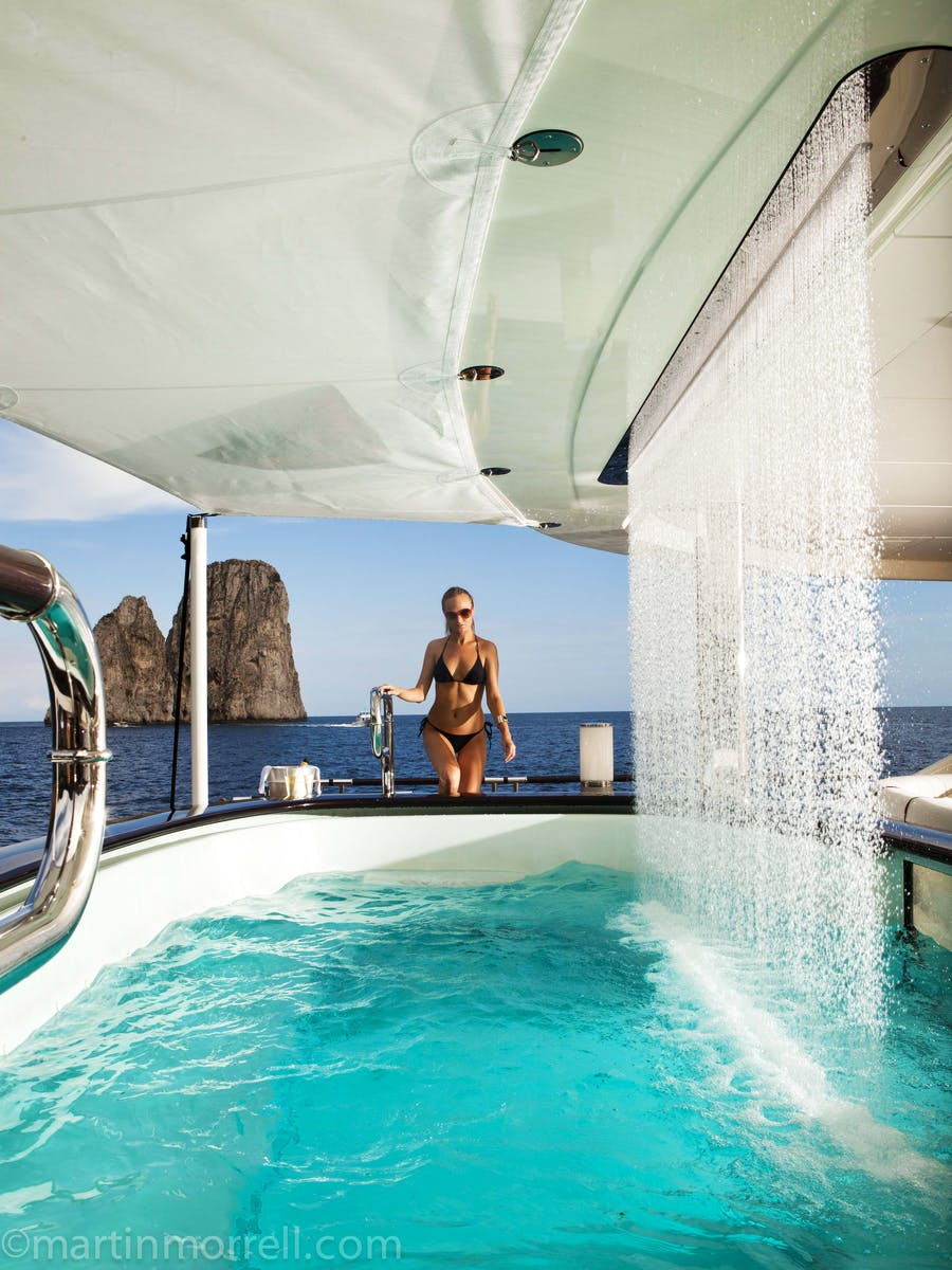 Tendar & Toys for QUITE ESSENTIAL Private Luxury Yacht For charter