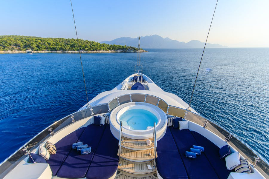 Tendar & Toys for RARE FIND Private Luxury Yacht For charter