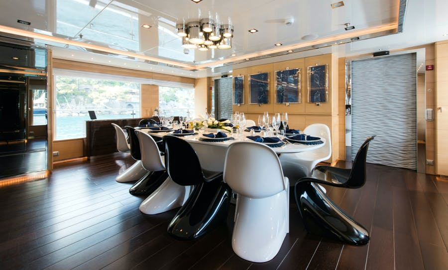 Tendar & Toys for RESILIENCE Private Luxury Yacht For charter