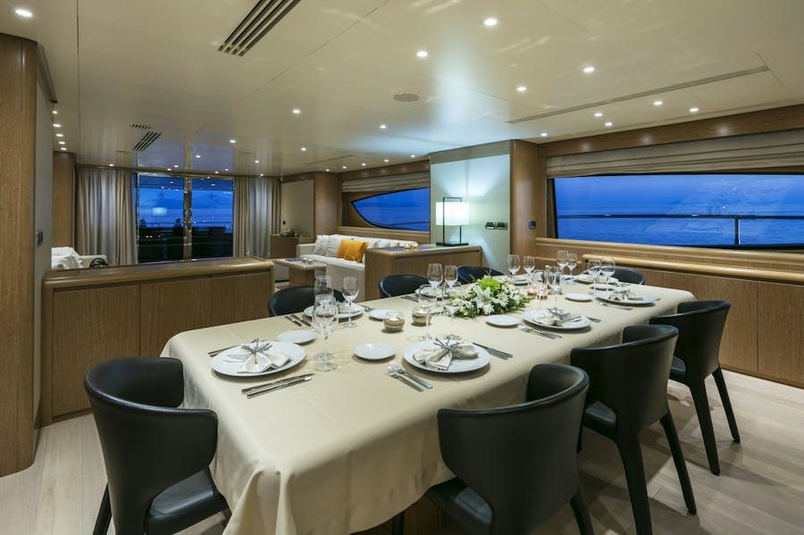 Tendar & Toys for RINI V Private Luxury Yacht For charter