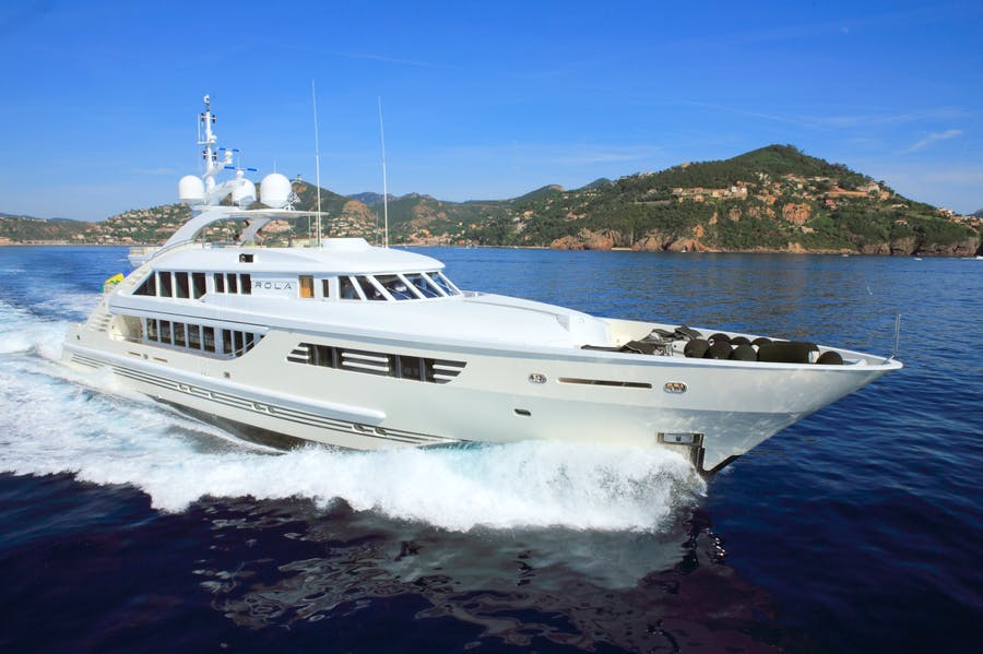 Seasonal Rates for Rola Private Luxury Yacht For Charter