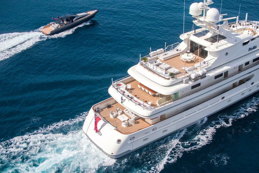 Features for ROMA Private Luxury Yacht For charter