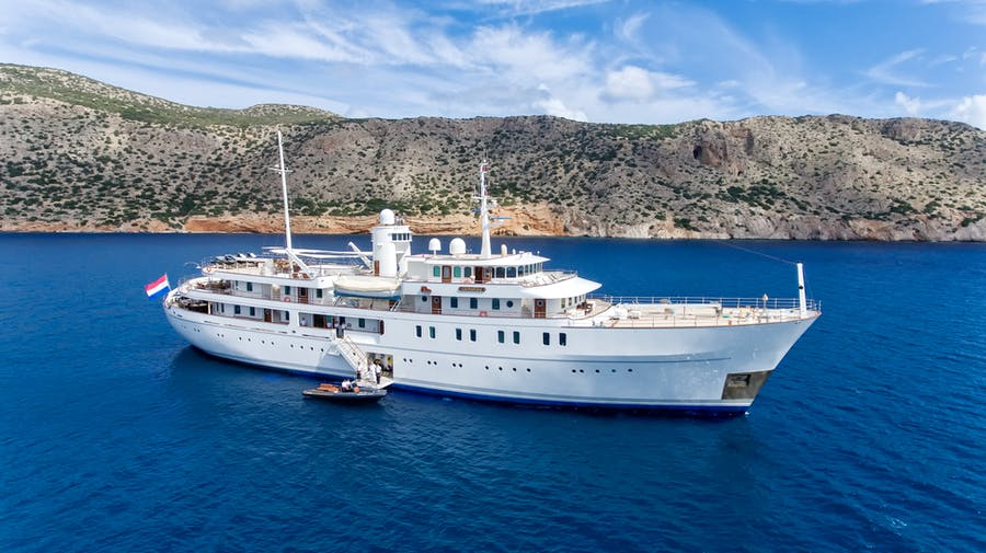 Seasonal Rates for SHERAKHAN Private Luxury Yacht For Charter