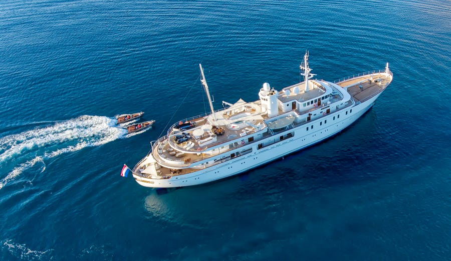 Features for SHERAKHAN Private Luxury Yacht For charter