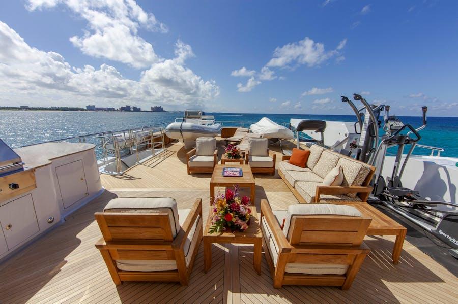 Tendar & Toys for SKYFALL Private Luxury Yacht For charter