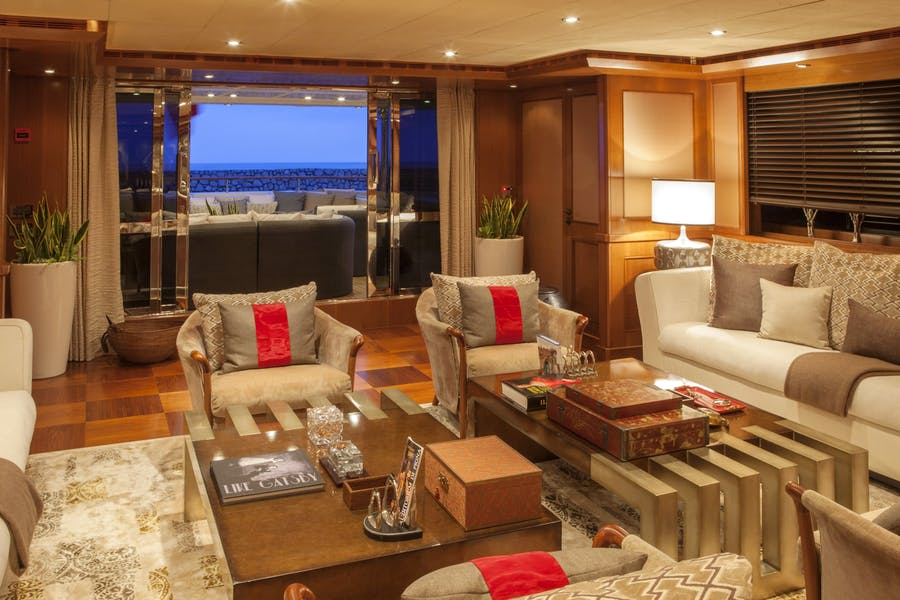 Features for SOFICO Private Luxury Yacht For charter