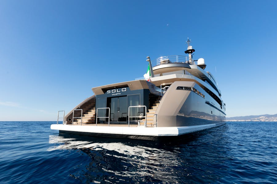 Tendar & Toys for SOLO Private Luxury Yacht For charter