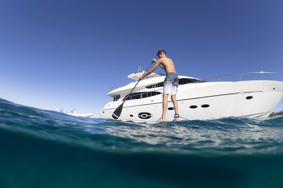 Features for SOPHIA Private Luxury Yacht For charter