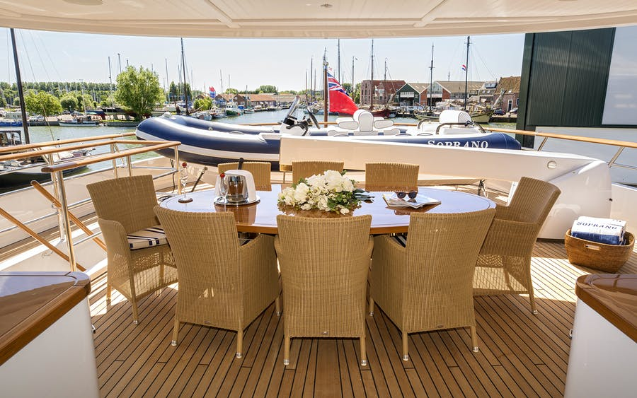 Tendar & Toys for SOPRANO Private Luxury Yacht For charter
