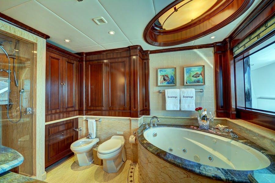 Tendar & Toys for SOVEREIGN Private Luxury Yacht For charter