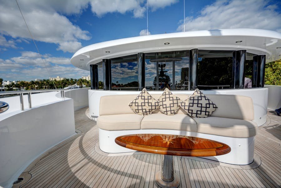 Features for SOVEREIGN Private Luxury Yacht For charter