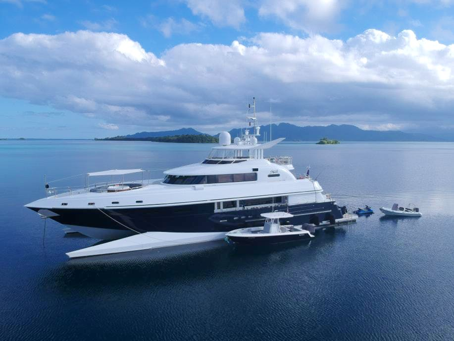 Seasonal Rates for SPIRIT Private Luxury Yacht For Charter