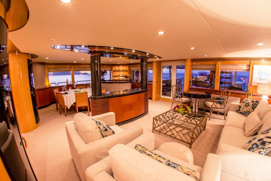 Features for SPIRIT Private Luxury Yacht For charter