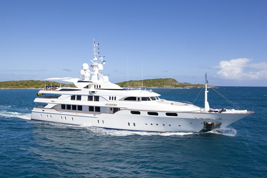 Seasonal Rates for Starfire Private Luxury Yacht For Charter