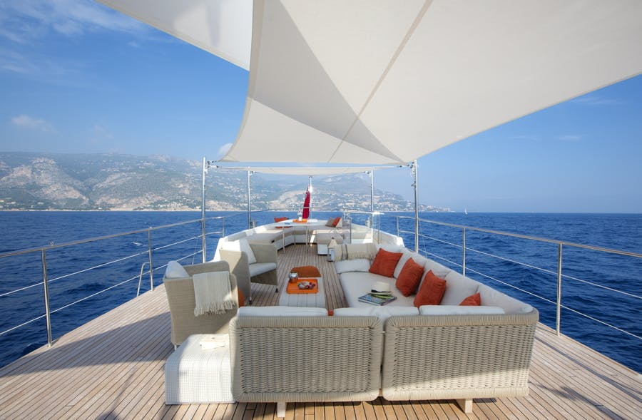 Features for SULTANA Private Luxury Yacht For charter