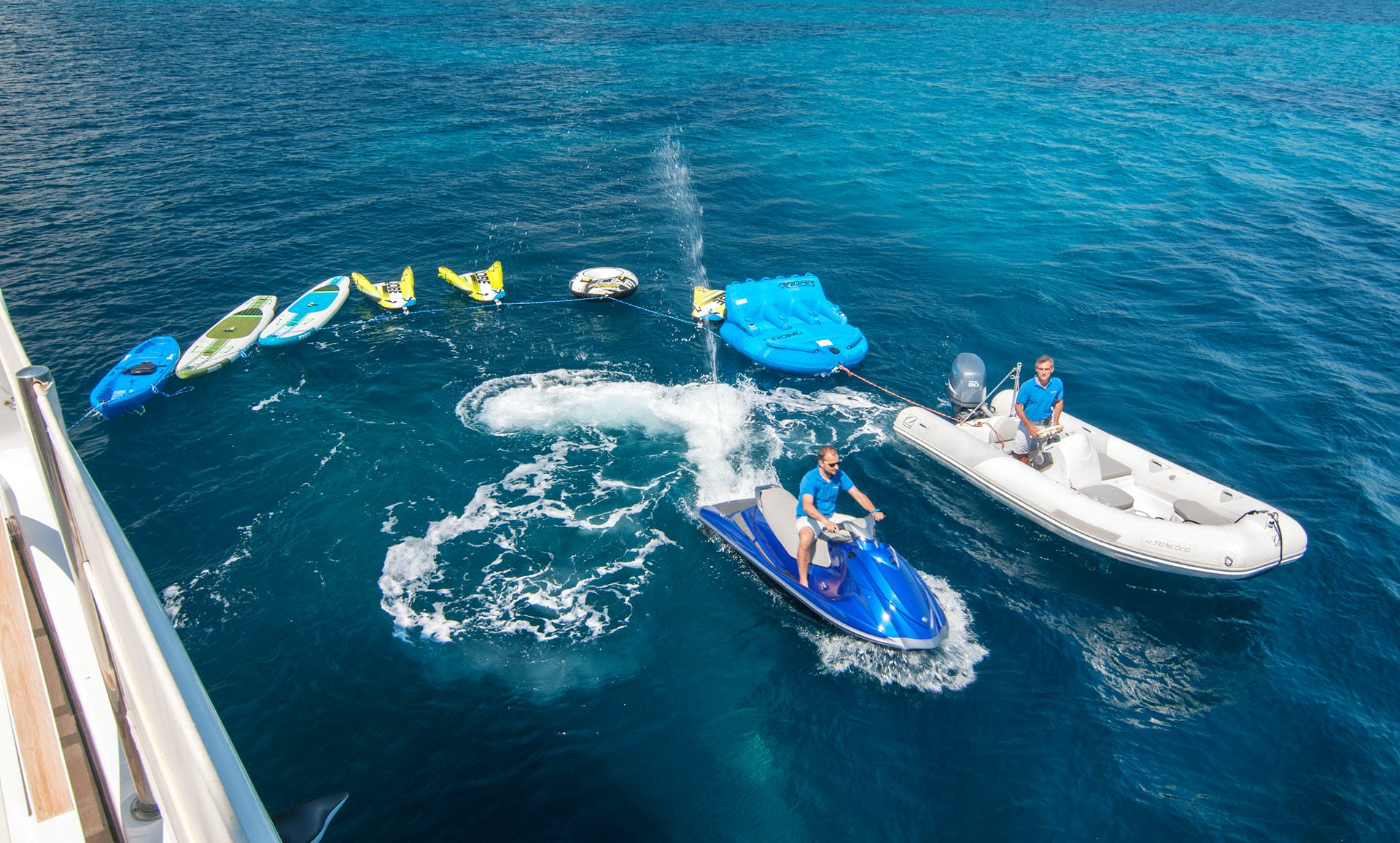 Seasonal Rates for SUNCOCO Private Luxury Yacht For Charter