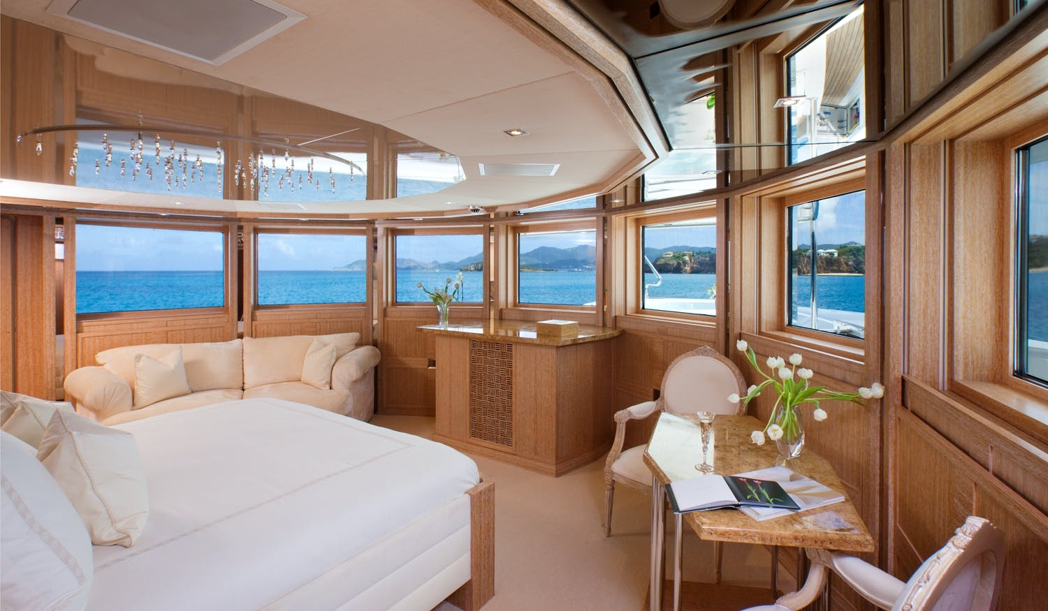 Seasonal Rates for SUNRISE Private Luxury Yacht For Charter