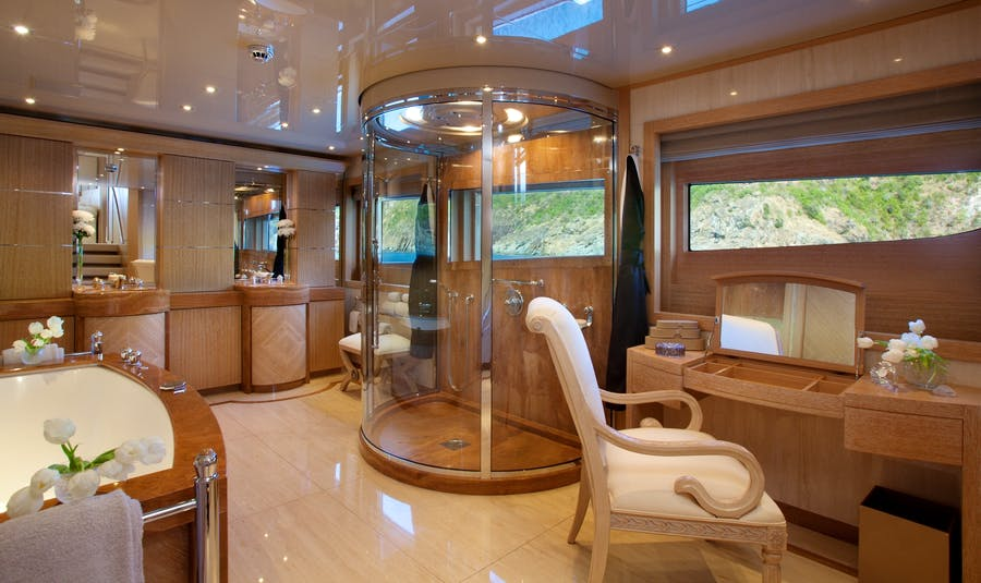 Features for SUNRISE Private Luxury Yacht For charter