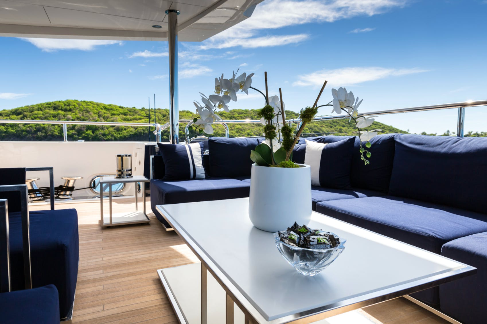 Seasonal Rates for TAKE 5 Private Luxury Yacht For Charter