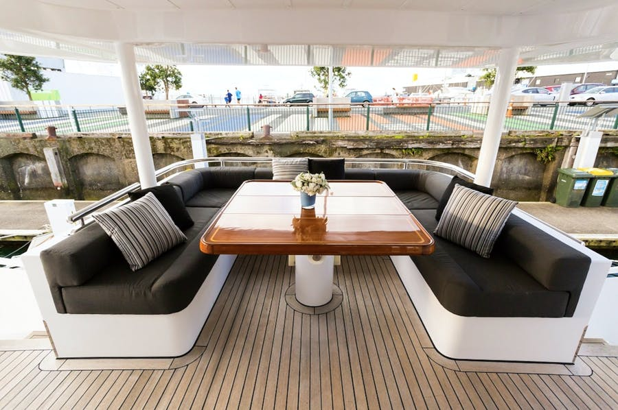 Features for TEMPLAR Private Luxury Yacht For charter