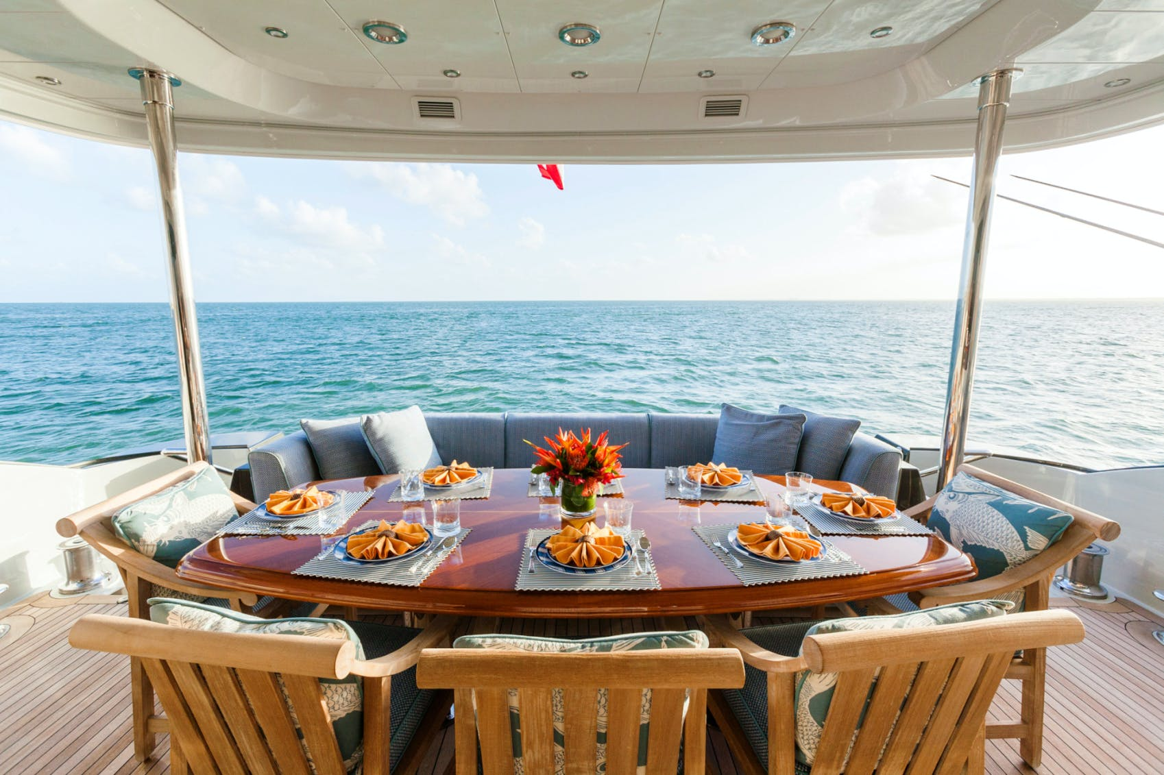Seasonal Rates for TEMPTATION Private Luxury Yacht For Charter