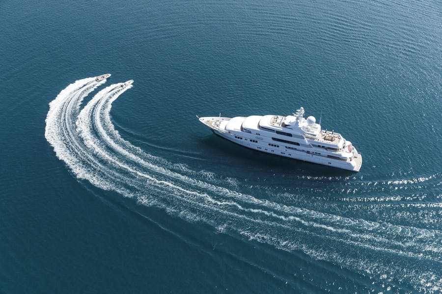Features for TITANIA Private Luxury Yacht For charter