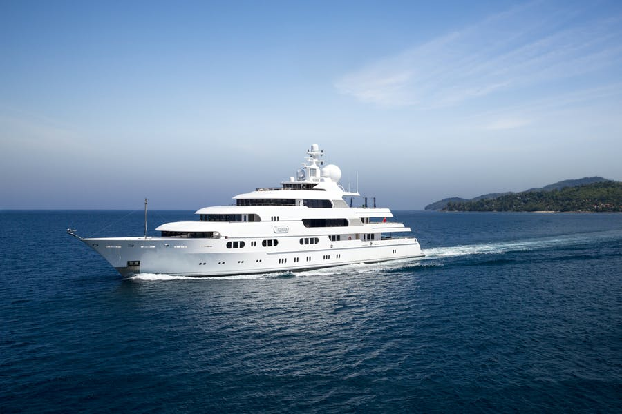 Seasonal Rates for TITANIA Private Luxury Yacht For Charter