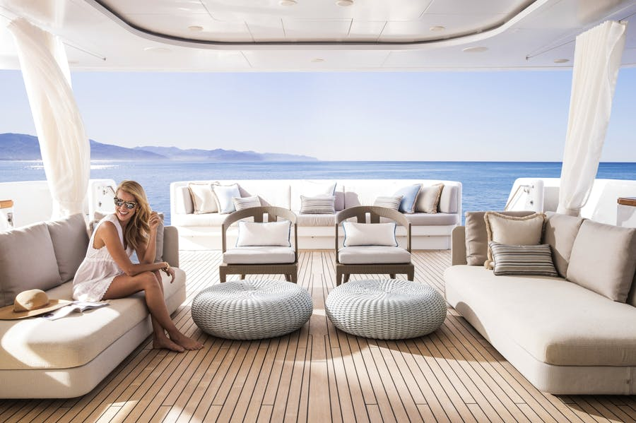 Tendar & Toys for TURQUOISE Private Luxury Yacht For charter
